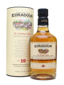 Edradour 10 Years Old Single Malt Scotch Schottland Highlands