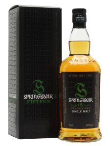 Springbank 15 Years Single Malt Whisky Campbeltown Schottland