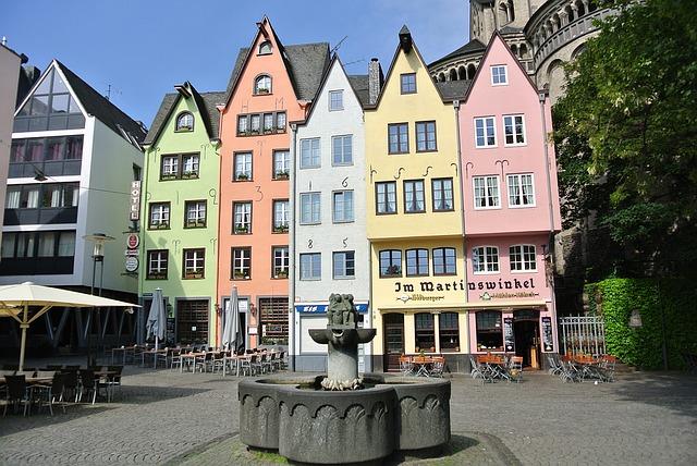 Historische Altstadt, Köln: Am Martinswinkel